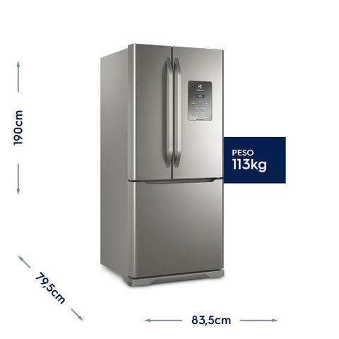 Imagem de vídeo Geladeira/Refrigerador French Door Inox 579L Electrolux (DM84X)