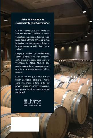 Imagem de Vinho do Novo Mundo: conhecimento para beber melhor - Ideograf