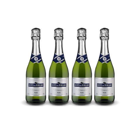 Imagem de Vinho Espumante Quinta do Morgado Moscatel 660ml - Kit 4 Garrafas Espumante Quinta do Morgado Branco