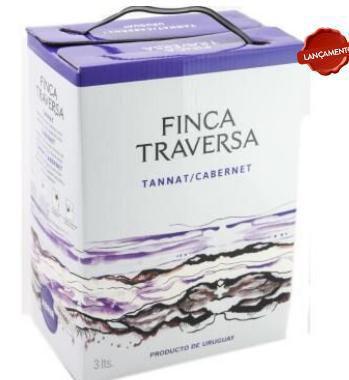 Imagem de Vinho Tinto Traversa Cabernet Sauvignon Bag in Box 3L
