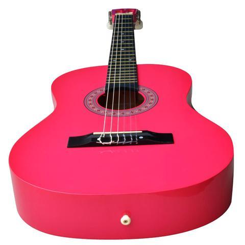 Imagem de Violão Acústico Clássico 6 Cordas Pink Aubvo616B Auburn