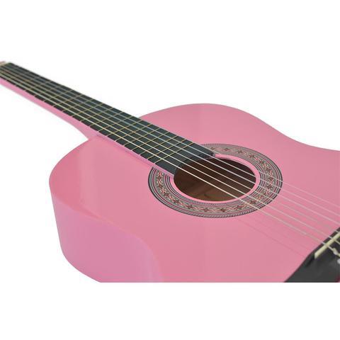 Imagem de Violão Acústico Clássico 6 Cordas Rosa Aubvo616 Auburn