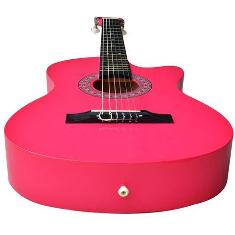 Imagem de Violão Acústico Cutway 6 Cordas Pink Aubvo626B Auburn