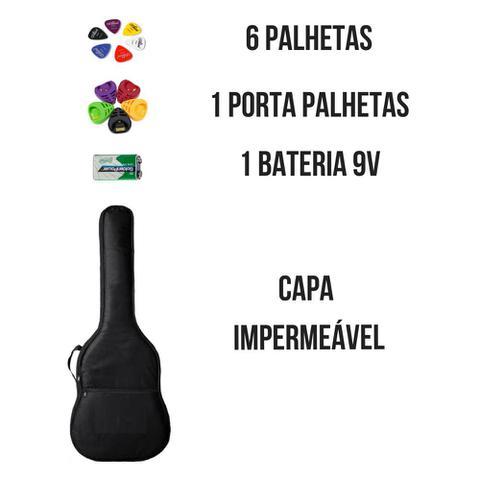 Imagem de Violão Elétrico Acústico Folk Cutway GDC-1 CEQ VSB-S - Tobacco Sunburst + Porta Palhetas + Capa