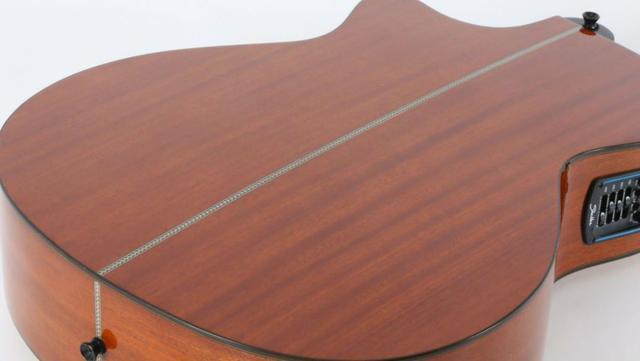 Imagem de Violão Eletroacústico Auditorium Saga SAG-500PRSX NA - Shelter
