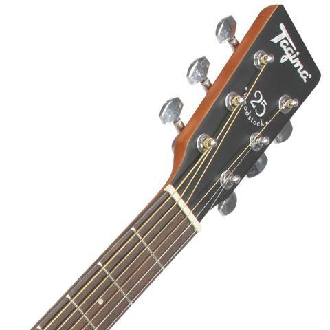 Imagem de Violão Eletroacústico Folk Woodstock Sunburst Tw25ds Tagima