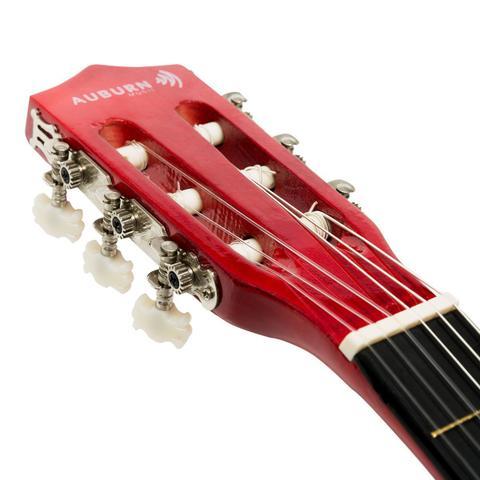 Imagem de Violão Eletroacústico Para Canhoto Auburn Music Cutway 6 Cordas Natural