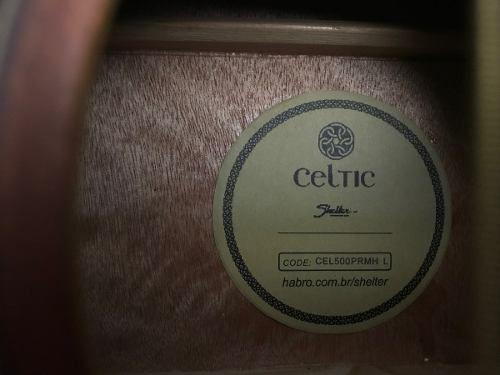 Imagem de Violão Shelter Mahogany Celtic Cel 500 Prmh L Novo + Frete