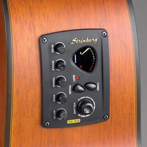 Imagem de Violão Strinberg SD200C SMS Folk Fosco Elétrico