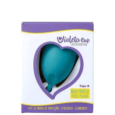 Imagem de Violeta Cup Tipo B Verde - Coletor Menstrual 36g