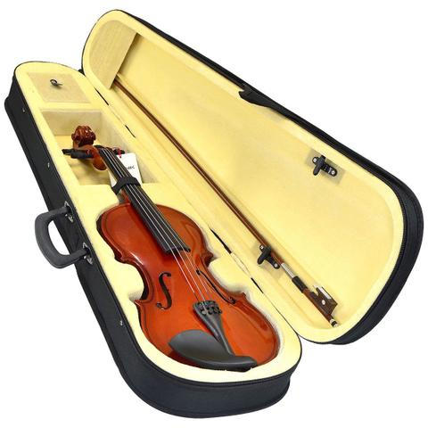Imagem de Violino Acústico Vinik 4/4 Com Arco E Estojo Breu E Cavalete
