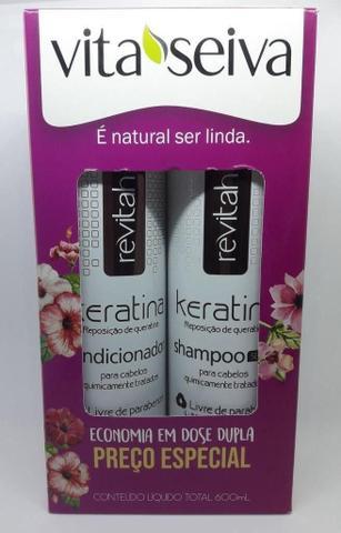 Imagem de Vita Seiva Revitah Keratina Shampoo+Condcionador 300ml Cada
