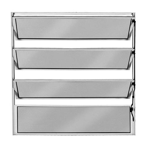 Imagem de Vitro Basculante de Alumínio  1,00 X 0,60 Linha All Soft Cor Brilhante