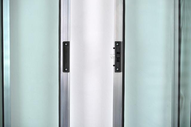 Imagem de Vitro de Alumínio 4 Folhas 1,00 X 1,80 Sem Grade Cor Brilhante Linha All Soft