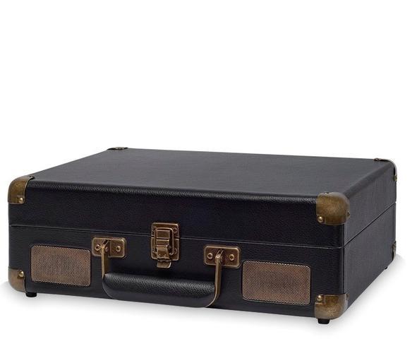 Imagem de Vitrola com 3 Rotações do Tipo Briefcase (Maleta) com USB (Reproduz e Grava) e Bluetooth
