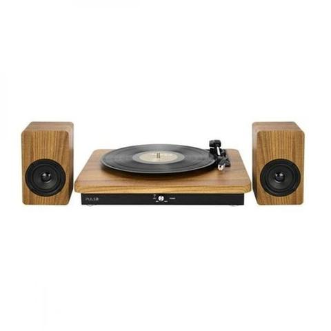 Imagem de Vitrola Multilaser SP366 Retro Sinatra Micro System Turntable Bluetooth - Marrom