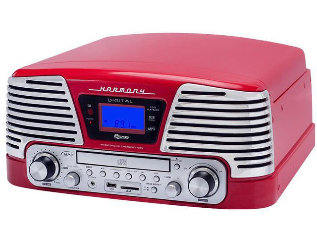 Imagem de Vitrola Raveo Harmony CD Player USB