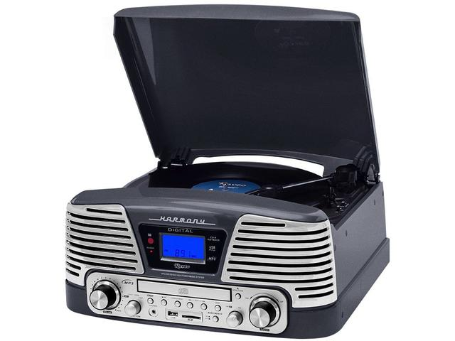Imagem de Vitrola Raveo Harmony CD Player USB