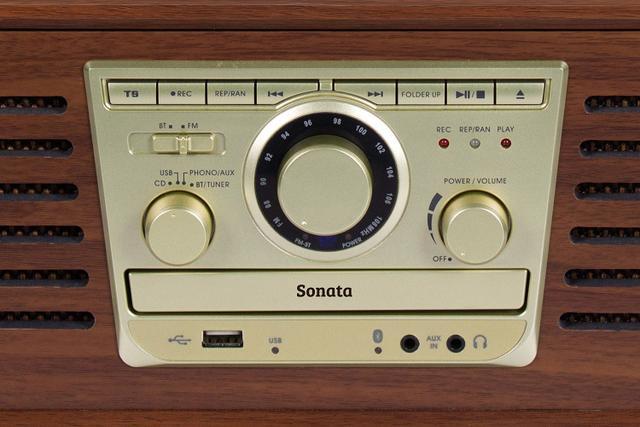 Imagem de Vitrola Raveo Sonata BT CD Player USB