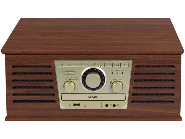 Imagem de Vitrola Raveo Sonata BT CD Player USB