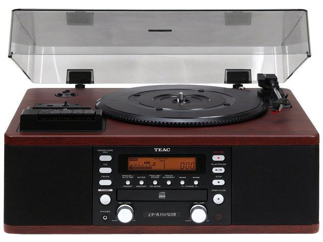 Imagem de Vitrola TEAC LPR550 CD Fita Cassete