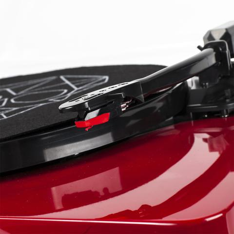 Imagem de Vitrola Toca Discos Diamond Vermelha Agulha Japonesa com software  de gravação para MP3 Echo 48d6ca523ef