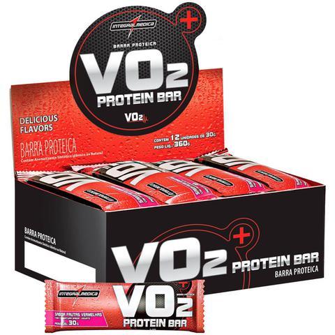 Imagem de VO2 Protein Bar (12 Barras) Integral Médica