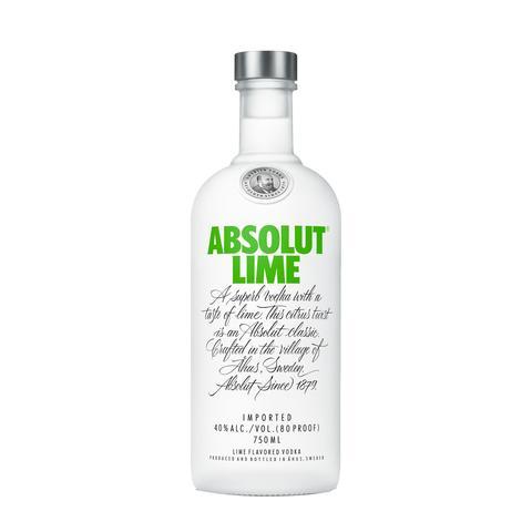 Imagem de Vodka Absolut Lime 750ml