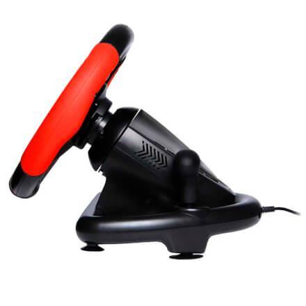 Imagem de Volante Gamer com Marcha e Pedal Conexão USB Material Plásti