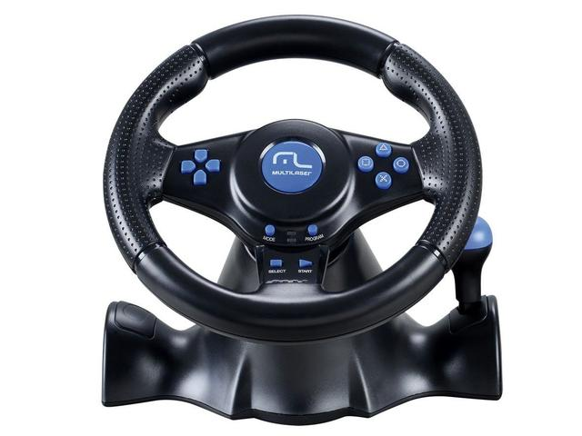 Imagem de Volante para PC/PS2/PS3 Multilaser