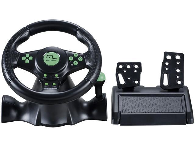 Imagem de Volante para PC/PS2/PS3/Xbox 360 Multilaser