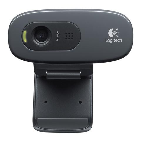Imagem de Webcam Logitech C270 HD 720p USB
