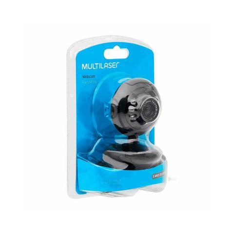 Imagem de Webcam Multilaser Preta Com Fio WC045