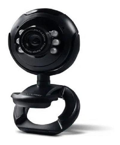 Imagem de Webcam nightvision 16mp microfone usb preto wc045