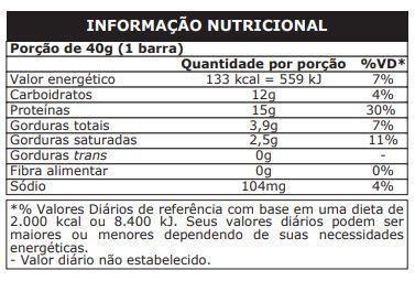 Imagem de Whey Bar (Caixa com 12 Unidades de 40g) - Probiótica