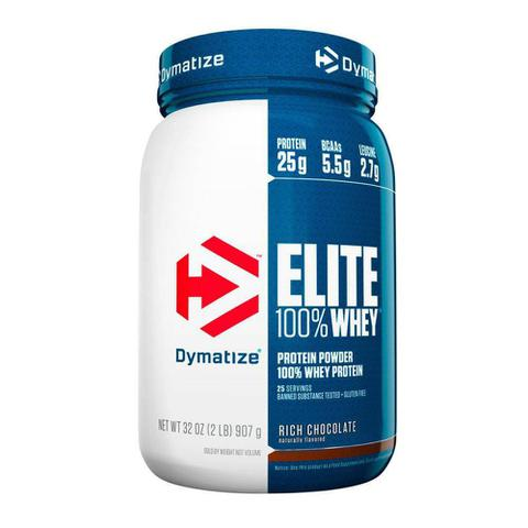 Imagem de Whey Elite 100 Protein 907g Rich Chocolate Dymatize Nutrition