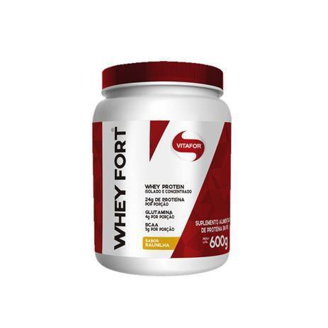 Imagem de Whey Fort 100% Whey Protein Premium Baunilha Vitafor 600g