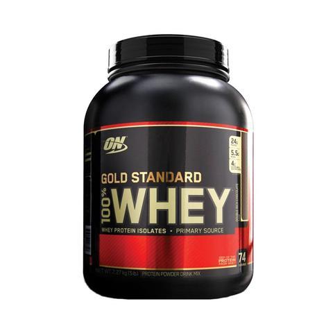 Imagem de WHEY GOLD 100 5LBS (2273g) - CHOCOLATE