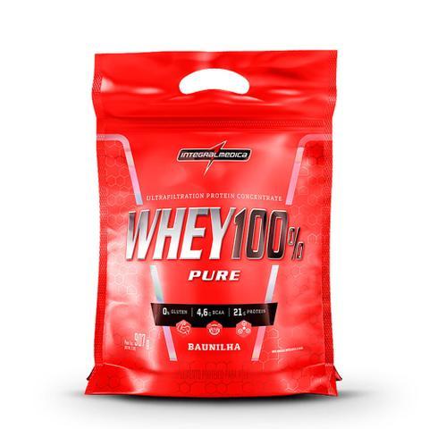Imagem de Whey Protein 100% Pure 907gr Refil - Integral Médica