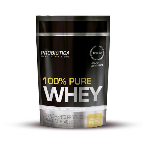 Imagem de Whey Protein 100% Pure Whey Refil Pouch Probiótica 825g