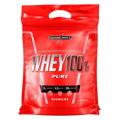 Imagem de Whey Protein 100% Super Pure 907 g Body Size Refil - IntegralMédica