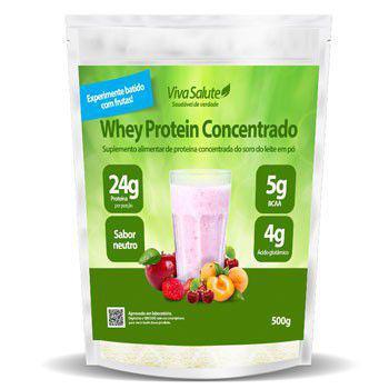 Imagem de Whey Protein Concentrado (WPC) Viva Salute - 500g