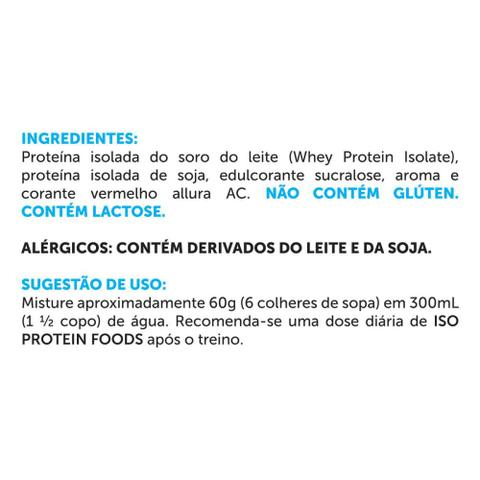 Imagem de Whey Protein Iso Protein Foods 2 kg  BRN Foods