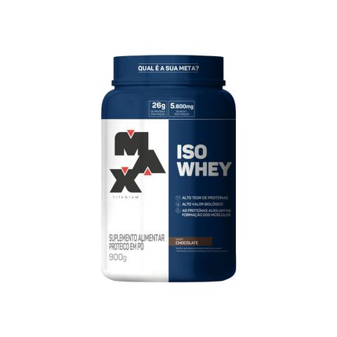 Imagem de Whey Protein Isolado - Iso Whey 900g Pote - Max Titanium