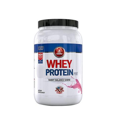 Imagem de Whey Protein Morango Midway - 1kg