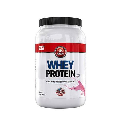 Imagem de Whey Protein Morango Midway USA - 907g