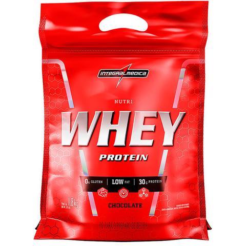 Imagem de Whey Protein Nutri Chocolate IntegralMédica Refil - 1.8 Kg