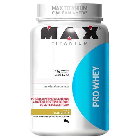 Imagem de Whey Protein Pro Whey 1Kg Exclusivo - Max Titanium