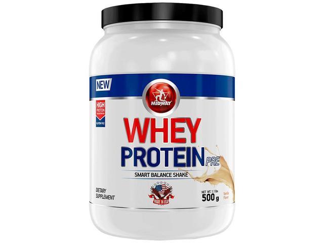 Imagem de Whey Protein USA 500g - Vanilla - Midway