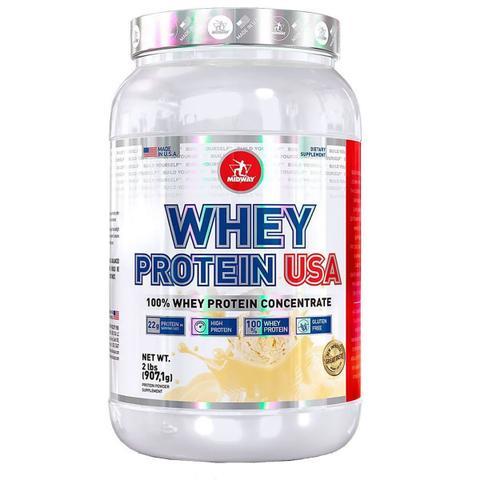 Imagem de Whey protein usa 900 g - midway (baunilha)